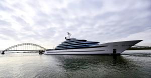 На воду спущена 110-метровая мега-яхта «Jubilee»
